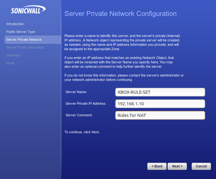 Xbox One Live and SonicWALL – NAT Type - Open - Command Q